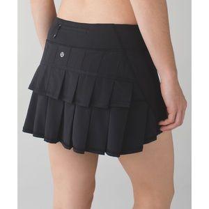 Lululemon Black Pace Setter Skirt